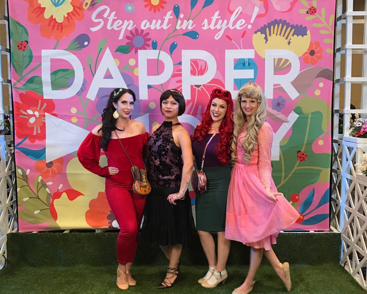 Dapper Day at Disneyland: Day 1