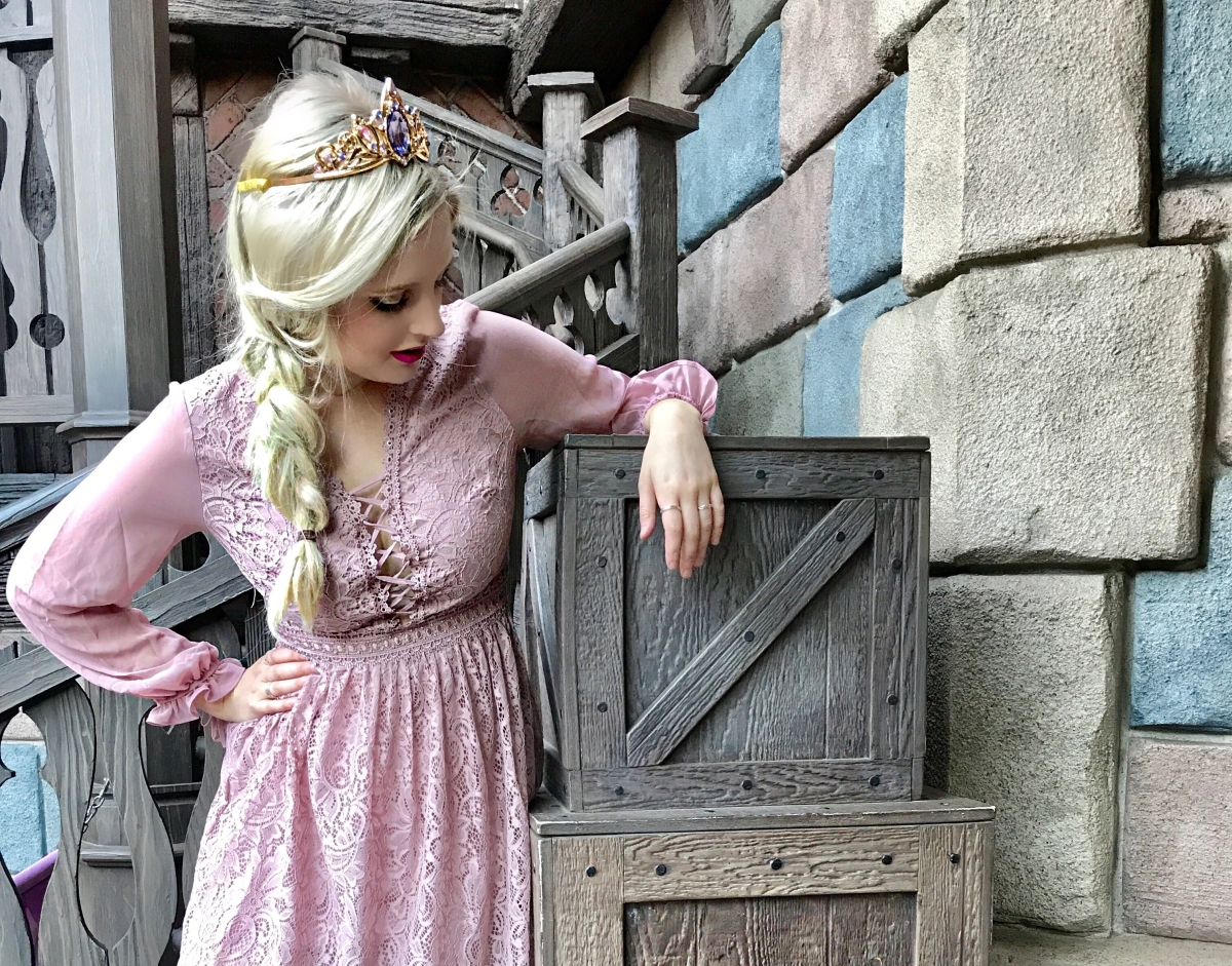 Behind the Bound: Rapunzel + Just Fab Collab